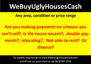 We Buy Ugly Houses CASH!